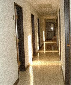 Image of Carmelite monastery corridor